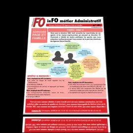inFO métier Agence Paie Famille n°01 du 20 décembre 2017