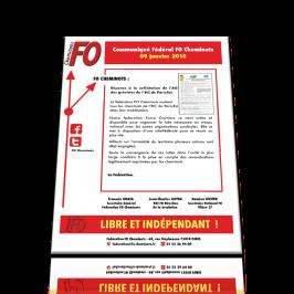 Réponse fédérale à l'AG EIC Paris-Est du 09 janvier 2018