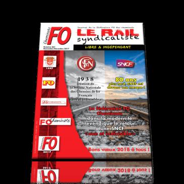 LE RAIL SYNDICALISTE numéro 661 NOVEMBRE DÉCEMBRE 2017